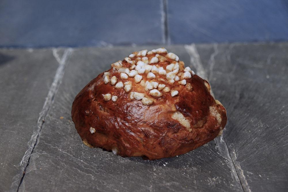 photo d'un pain au sucre de la boulangerie antoine