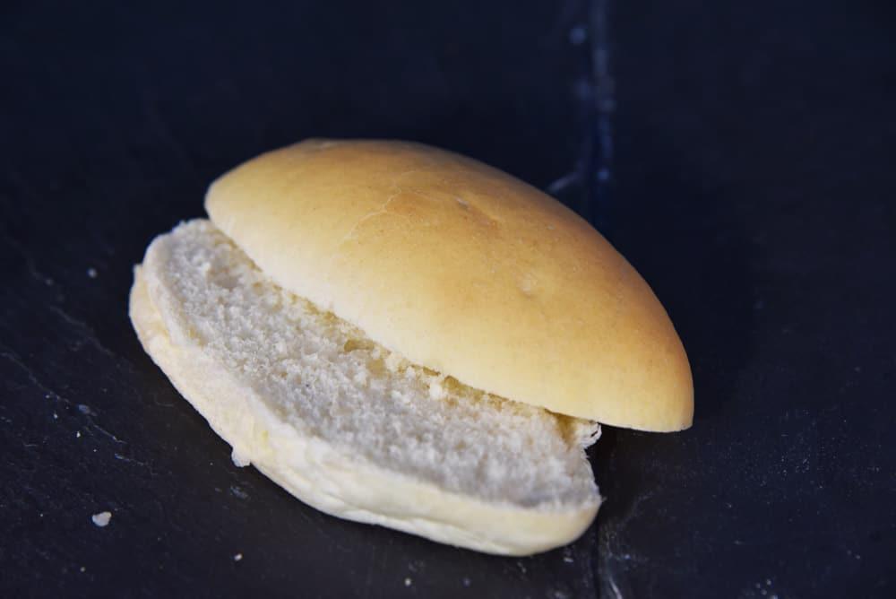 photo d'un sandwich blanc ouvert