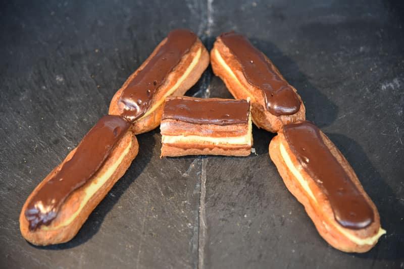 photo d'éclair au chocolat
