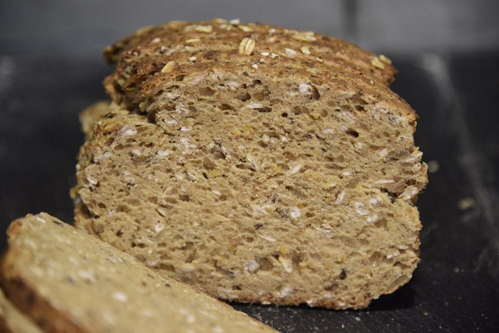 photo du pain vita plus avoine tranché