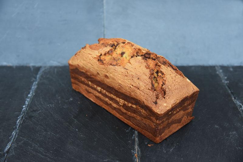 photo d'un cake marbré