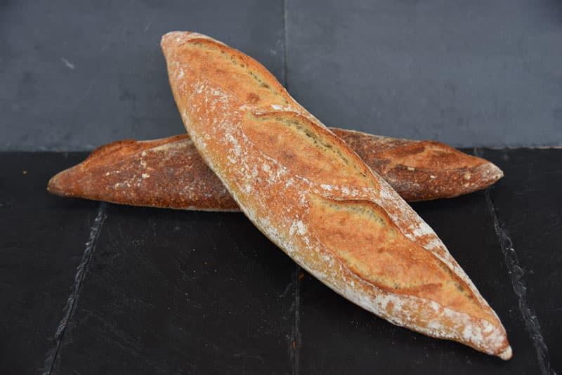 photo d'un pain baguette