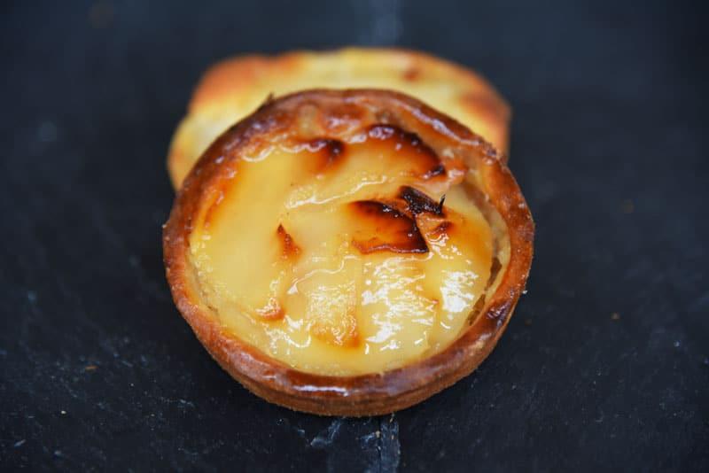 photo d'une tartelette amande poire