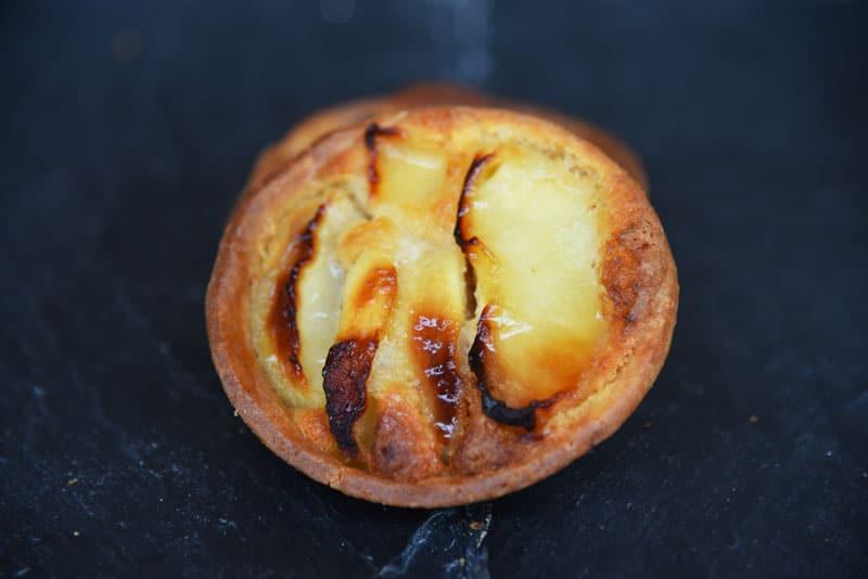 photo d'une tartelette amande pomme